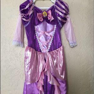 Rapunzel dress up dress